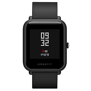 Amazfit Bip Smartwatch reloj inteligente Bluetooth con GPS Monitor de ritmo cardíaco en tiempo real Resistente al agua Sports Fitness Tracker Soporte iOS y Android