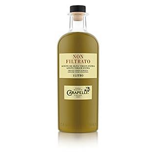 Extra-Carapelli Olivenöl ohne Filtration Glas 1 l