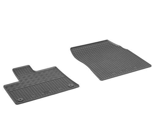 Gumi-Matten RIGUM Gummifußmatten passgenau geeignet für Opel Combo ab 2019 2-Sitzer