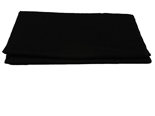 Gurdip Store Men's Unstitched Casual 5 mtr Cotton Black Turban , 1...