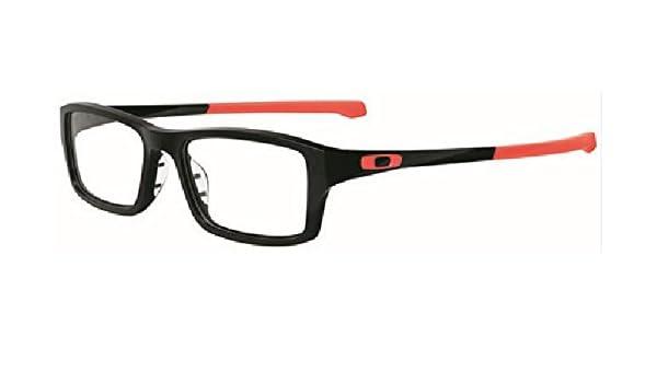 46c49361a3 Oakley Unisex Eyewear Frames Chamfer OX8039-0751 51mm Matte Black  Amazon.co.uk   Clothing