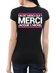 T-shirt Jacquie & Michel Spécial Femme