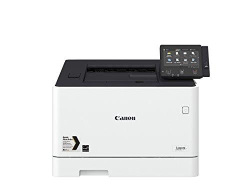 Canon i-SENSYS LBP654Cx; Farblaserdrucker; bis 27 Seiten/Min. (DIN A4); 12,7 cm-LCD-Farbtouchscreen; USB 2.0 Hi-Speed, Ethernet, Wireless 802.11b/g/n