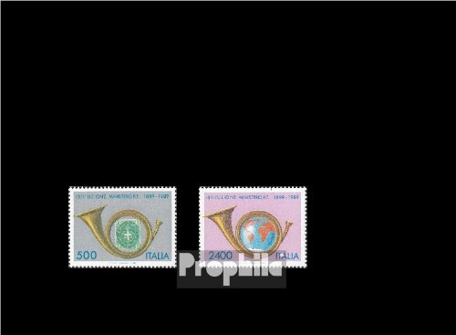 Prophila Italien 2088-2089 (kompl.Ausg.) 1989 Post- und Fernmeldewesen (Briefmarken für Sammler)