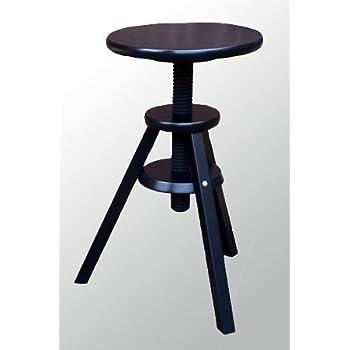 ikea hocker drehhocker barhocker stuhl h henverstellbar 43 58 cm k che haushalt. Black Bedroom Furniture Sets. Home Design Ideas