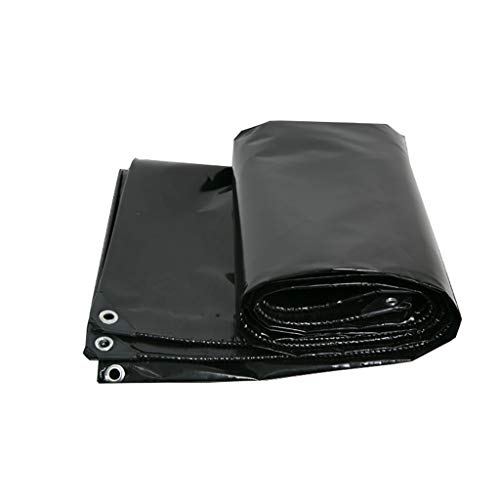 YAN FEI wasserdichte Schwere Plane Schwarzes aufgefülltes regendichtes Tuch des Wasserdichten Sonnenschutzes drücken PVC-Messerabkratztuch Oxford-Tuchfachtuch-LKW-Plane (größe : 3×4M)