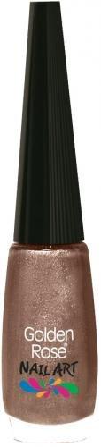 GOLDEN ROSE - Vernis Ongles Nail art 118