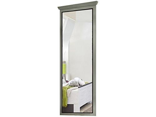 Loft24 Merry Spiegel grau Wandspiegel 62x150 cm Hängespiegel Badspiegel Holzspiegel Flur Garderobe Kiefer Holz rechteckig