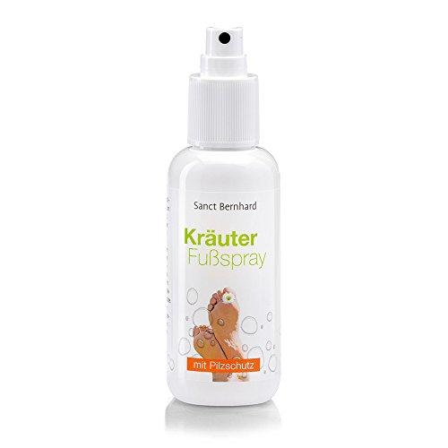 Kräuter-nagel (Kräuter-Fußspray mit Clotrimazol, Teebaumöl, Minze, Salbei 125 ml)
