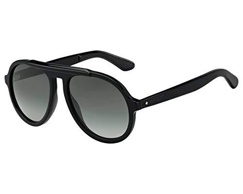 Jimmy Choo Sonnenbrillen (RON-S 8079O) schwarz glänzend - grau-grün verlaufend