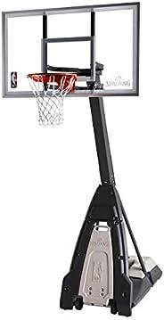 Spalding The Beast Glass Portable Basketball Hoop - 60&
