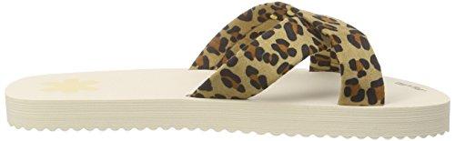 flip*flop Original Cross Leo, Sandales ouvertes femme Multicolore - Mehrfarbig (964)
