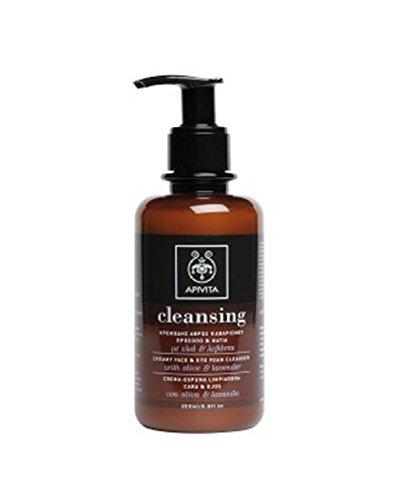 Apivita - Crema espuma limpiadora facial & ojos oliva
