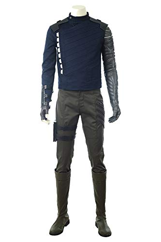 Karnestore Infinity War Winter Soldier Outfit Cosplay Kostüm Herren M (Winter Soldier Arm Kostüm)