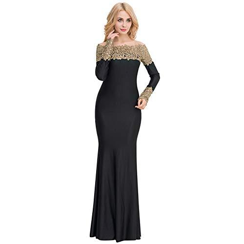 Embroidered Mini Skirt (Sexy Body Lingerie Erotische Unterwäsche Embroidered Dress Lady Dress Evening Dress, Black And Yellow, M)