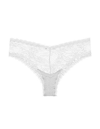 Cosabella Women's Trenta Woman's Brazilian Minikini White in Size Small/Medium