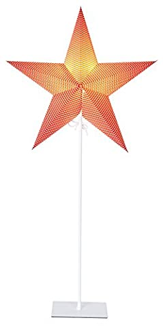 Lampadaire Rouge - Star 236-45 Star On Base Lampadaire E14