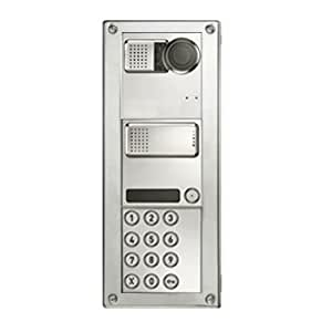 Linkcom - Interphone modulaire IP anti-vandale - Config 4 - Encastré