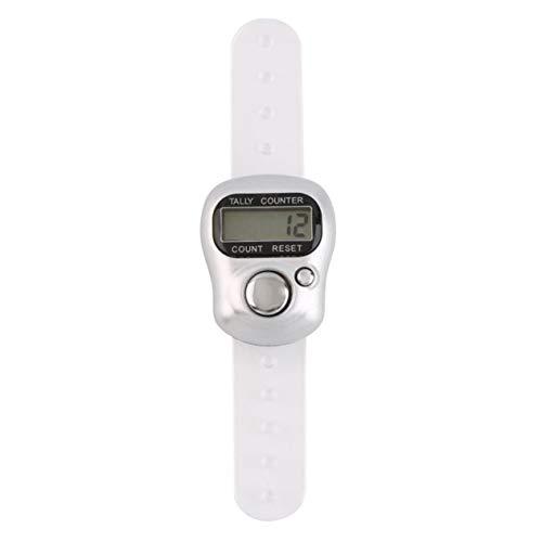 EdBerk74 Leichter Design-Gürtelclip für einfache Bedienung Mini-Digital-LCD-Laufschrittzähler Schrittzähler ABS bis zu 99999 Stufen -