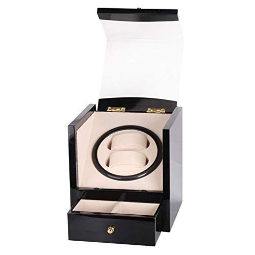 K-Y Watch Winder Scatola Orologio Automatico Watch Winder Box 4 modalità, Wood Shell, 2/4 + 6 (Colore : H.)