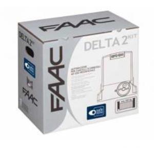 Schiebetor-Set von FAAC, DELTA 2 KIT, 1056303445 Automatisierung, 500 kg, 230 V