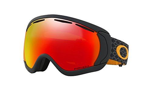 Oakley Herren Schneebrille Canopy Aksel Lund Signature Skygger Black Orange