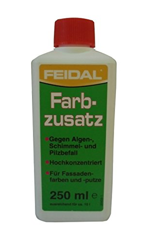 Feidal 250 ml Spezial-Konzentrat gegen Algen, Schimmel & Pilzbefall, hochkonzentriert, Wandfarbe, Fassadenfarbe