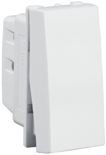 Havells Oro 10A One-Way Switch  available at amazon for Rs.99