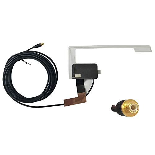"""DAB Autoradio Adapter für Universalauto mit 3M SMA-DAB-Antenne, 20,47 """"USB-Kabel, externes digitales DAB+ Box Empfänger für automatische Signalempfangsstation (tupfen Sie Antenne)"""
