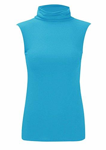 RIDDLEDWITHSTYLE Damen T-Shirt * Einheitsgröße Türkis