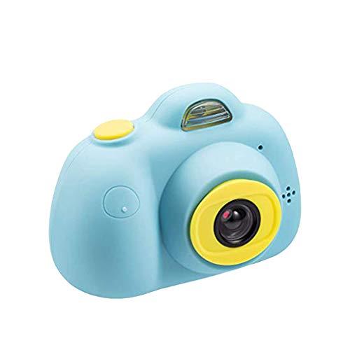 """Zhen+ Mini Digitalkamera Kindertauglich, 2.0"""" IPS-Bildschirm 8MP HD Videokamera Tragbar Action Camcorder Camera, Spielzeug und Geschenk für Kinder (C-Blau)"""