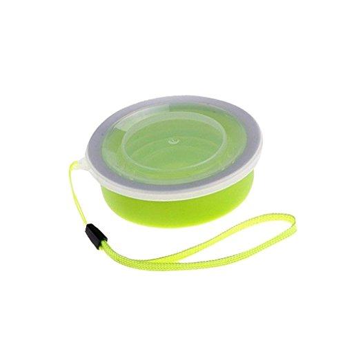 5five 1*tazza pieghevole retrattile portatile a livello alimentare senza bpa silicone outdoor tazza per viaggio, campeggio, escursionismo e al lavoro. risparmio spazio.
