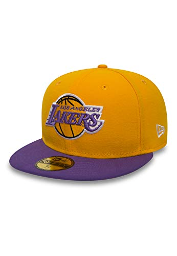 New Era Los Angeles Lakers Basecap Nba Basic Yellow / Purple - 7 - 56cm