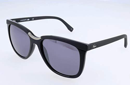 Lacoste Damen L824S Sonnenbrille, Schwarz, 55