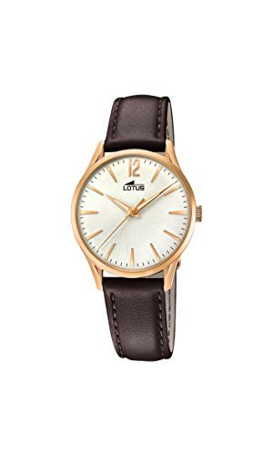 Lotus Watches Womens Analogue Classic Quartz Watch with Leather Strap 18407/1