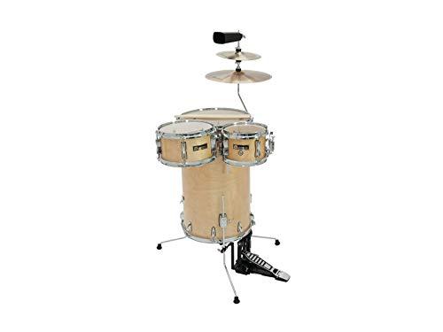 Cocktail Schlagzeug TROPICEUR, Ahorn, natur - Steh-Drumset aus Holz / Stehschlagzeug natur - klangbeisser -