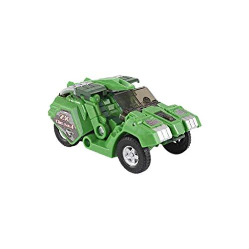 Jamicy Dinosaurier Modelle Spielzeug, Kinderspielzeug Dinosaurier Roboter Auto Anime Figur, Jurassic World Park (Grün)