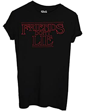 T-Shirt FRIENDS DONT LIE STRANGER THINGS - FILM by Mush Dress Your Style