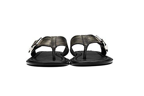 OPP Homme Sandales de la Mode Chaussures en Cuir 2016 Nouvelle Collection OT172102-Bronze