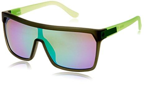 Spy-Occhiali da sole FLYNN, Unisex, Sonnenbrille FLYNN, bronze/Green spectra, taglia unica - Spy Bronzo Da Sole