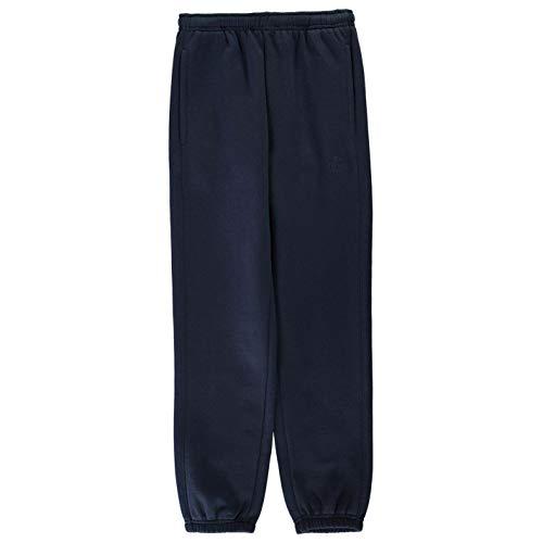 Lonsdale Jungen Fleece Unterteil Jogginghose mit Bündchen Steel Blau M