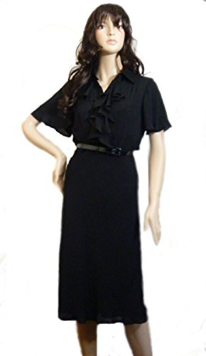 Ralph Lauren Damen Cocktail Kleid Gr. 40, schwarz