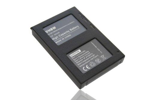 vhbw Li-Ion Akku 650mAh (7.2V) für Kamera, Video, Camcorder JVC GZ-MC200, GZ-MC100, GZ-MC100EK, GZ-MC100EX, GZ-MC200E, GZ-MC200 wie BN-VM200.
