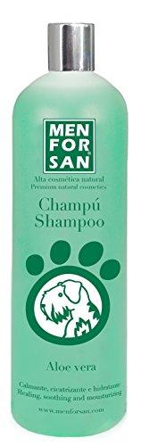 Menforsan Shampoo, natürlich, beruhigend/regenerierend, Aloe Vera für Hunde, 1000ml -