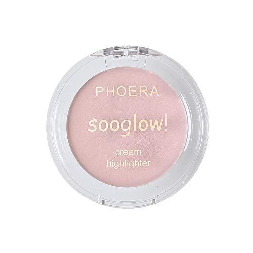 ReooLy PHOERA Highlighter Make Up Shimmer Creme Gesicht Highlight Lidschatten Glow Bronzer