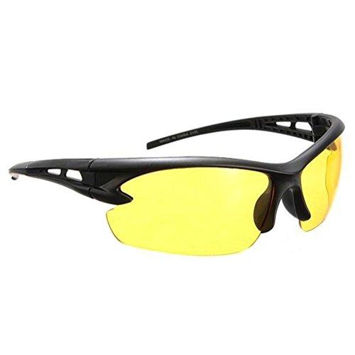 BESTOMZ Nachtsichtbrille Anti-Glanz Fahren Brillen Kontrast-Brille polarisierte