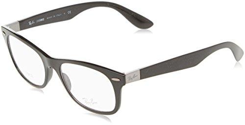 Rayban Unisex-Erwachsene Brillengestell RX7032, Schwarz (Black), 52