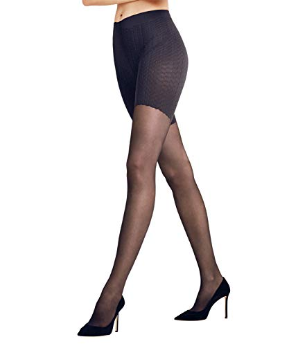 Cellulite Control Creme (FALKE Damen Strumpfhosen Cellulite Control 20 den - 1 Paar, Gr. S-M, schwarz, transparent matt, durchblutungsfördernd, Lymph Massage)