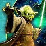 Star Wars Partyservietten, 33 x 33 cm, 16 Stück, Motiv Yoda