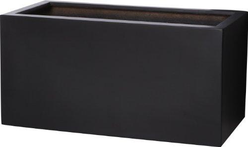 pot-a-fleurs-en-fibre-de-verre-gartenfreude-pour-linterieur-et-lexterieur-de-couleur-noire-60-x-30-x
